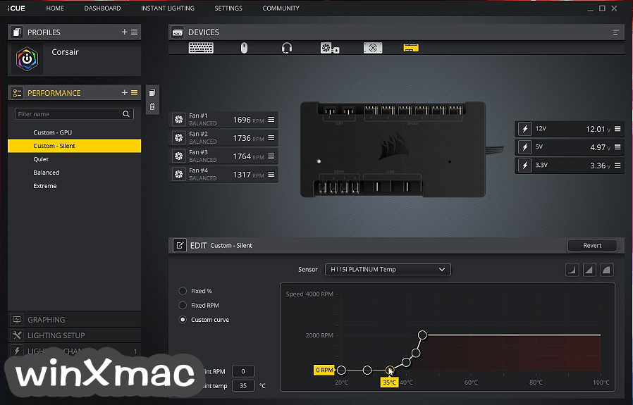 Corsair Utility Engine - iCUE Screenshot 1