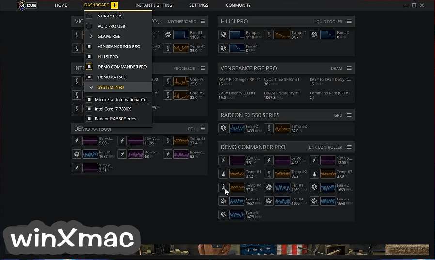 Corsair Utility Engine - iCUE Screenshot 4