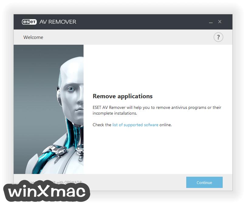 ESET AV Remover (64-bit) Screenshot 1