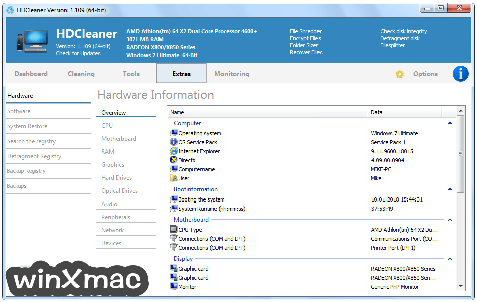 HDCleaner Screenshot 4