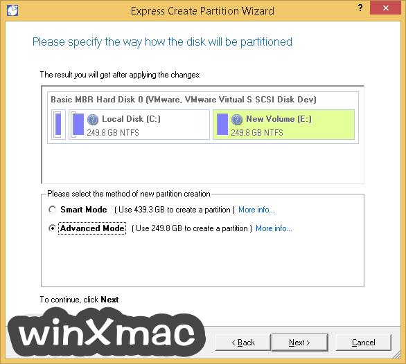 Paragon Partition Manager Professional (64-bit) Screenshot 3