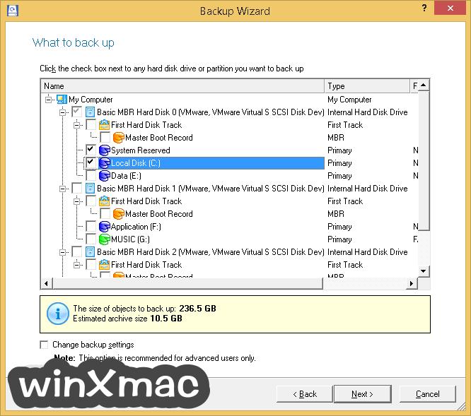 Paragon Partition Manager Professional (64-bit) Screenshot 4