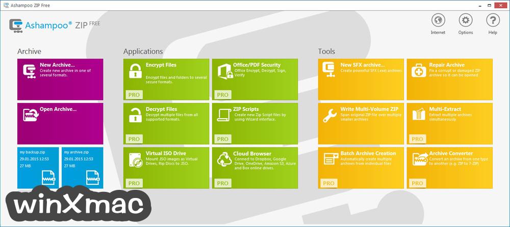 Ashampoo ZIP Free Screenshot 1