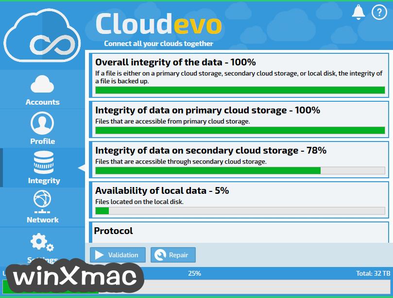 Cloudevo Screenshot 2