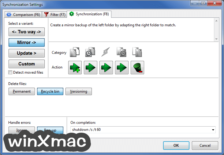 FreeFileSync Screenshot 4