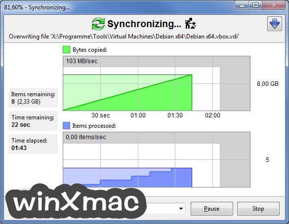 FreeFileSync Screenshot 5