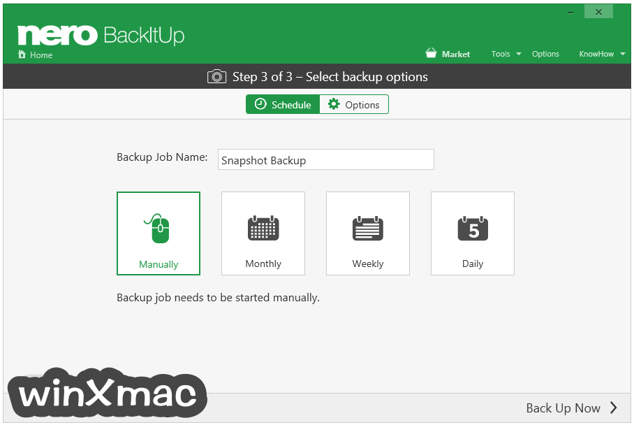 Nero BackItUp Screenshot 5