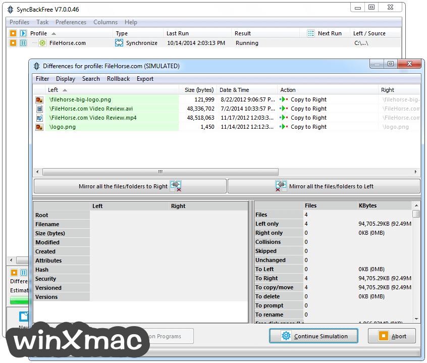 SyncBackFree Screenshot 2