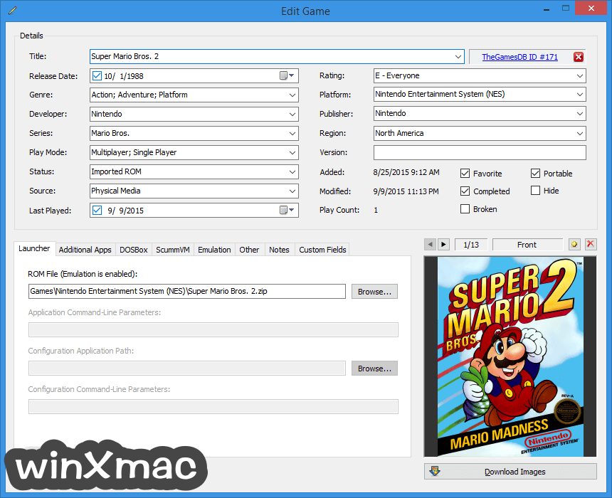 LaunchBox Screenshot 5