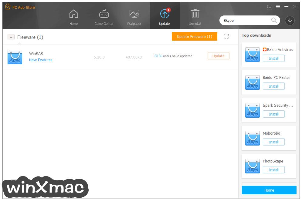 PC App Store Screenshot 2