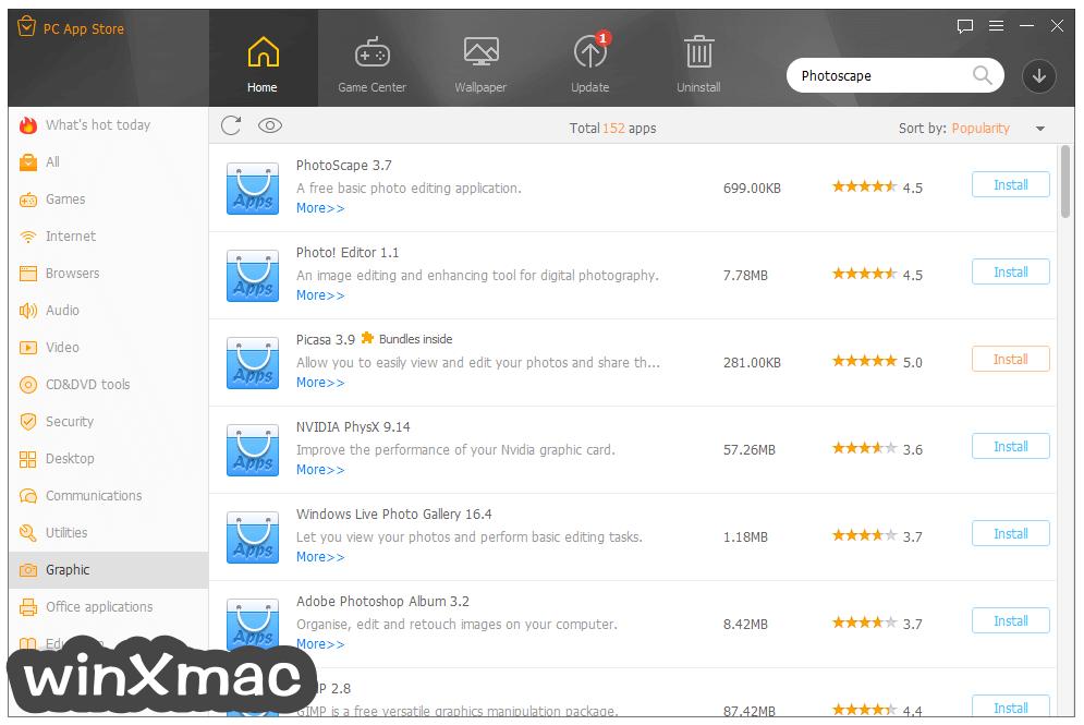PC App Store Screenshot 4