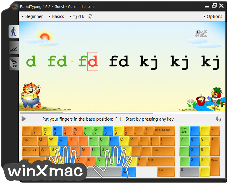 RapidTyping (32-bit) Screenshot 2