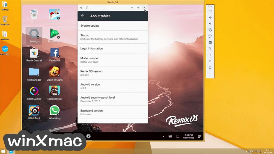 Remix OS Player Screenshot 4