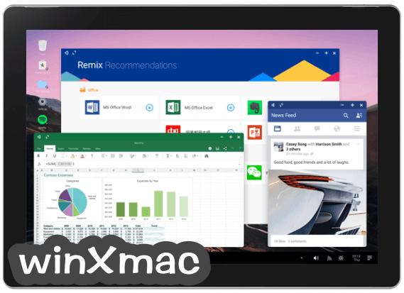 Remix OS (64-bit) Screenshot 2