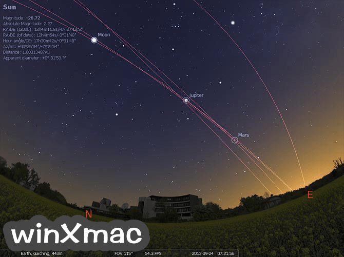 Stellarium (32-bit) Screenshot 1