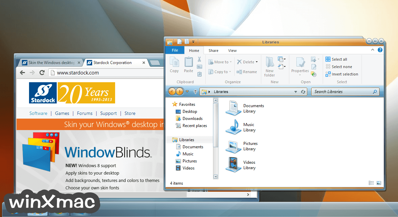 WindowBlinds Screenshot 1