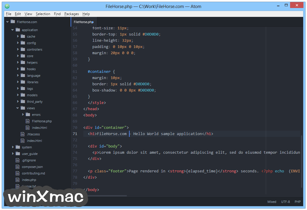 Atom (32-bit) Screenshot 2