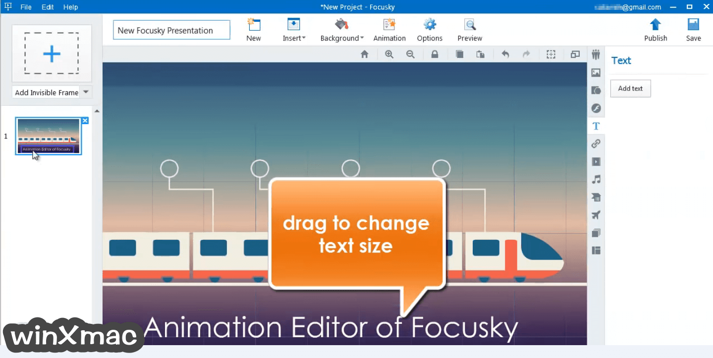 Focusky Screenshot 1