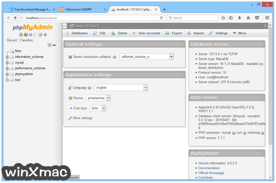 XAMPP Screenshot 5