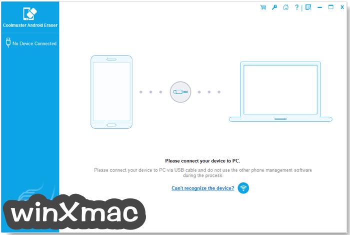Coolmuster Android Eraser Screenshot 1
