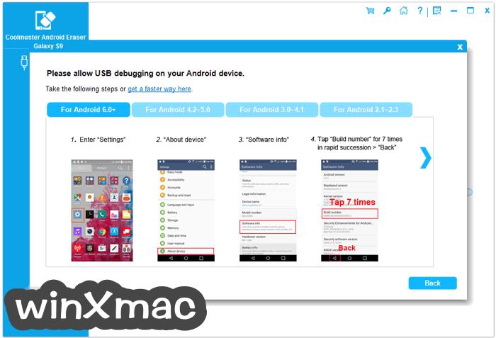 Coolmuster Android Eraser Screenshot 2