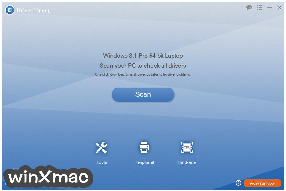 Driver Talent for Network Card Screenshot 1