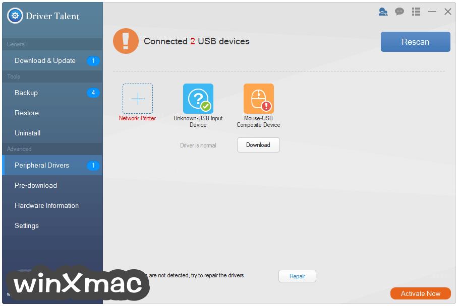 Driver Talent for Network Card Screenshot 3