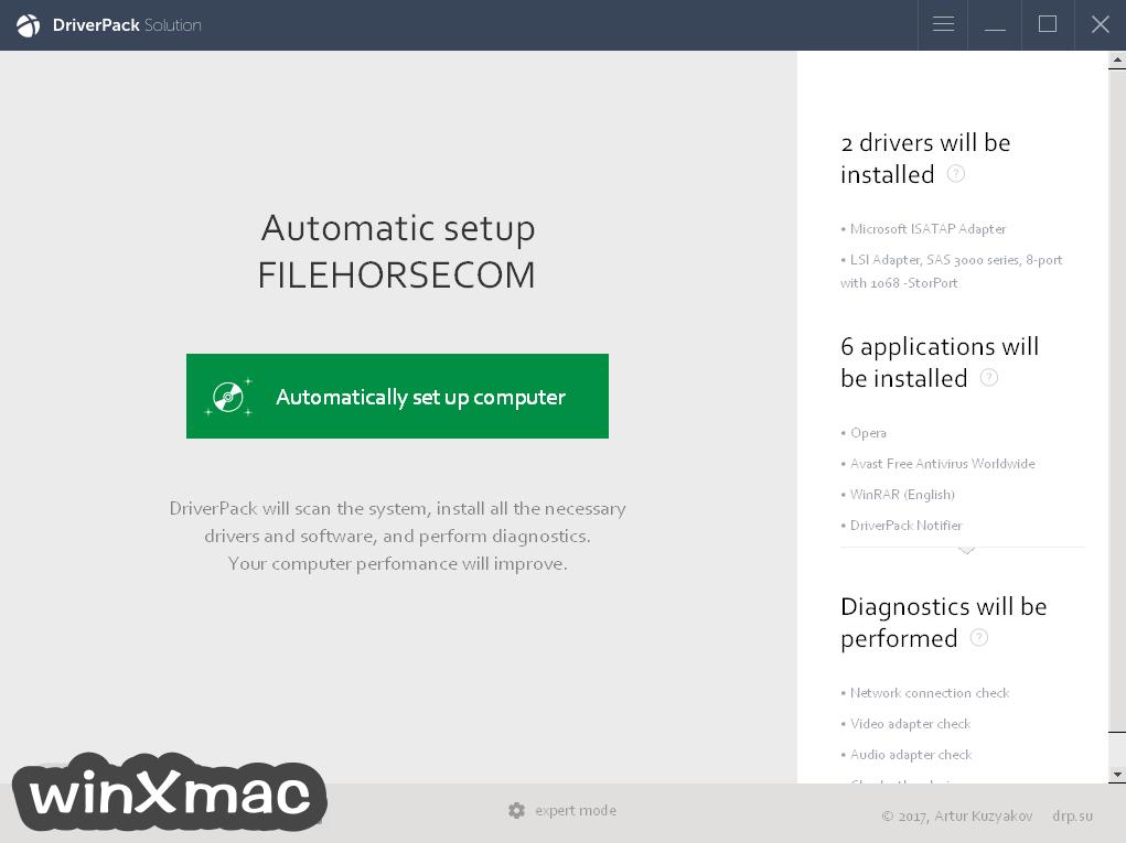 DriverPack Network Screenshot 1