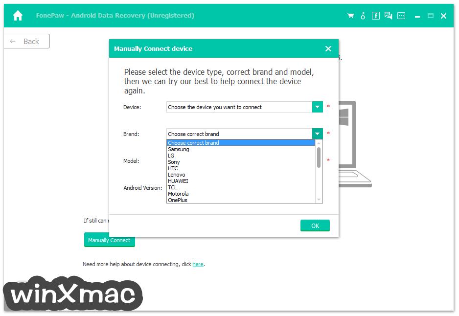FonePaw Android Data Recovery Screenshot 3
