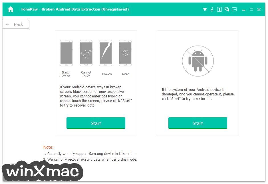 FonePaw Android Data Recovery Screenshot 4