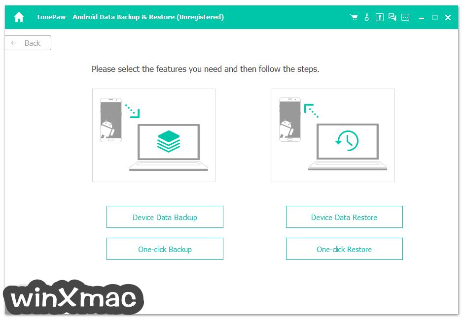 FonePaw Android Data Recovery Screenshot 5