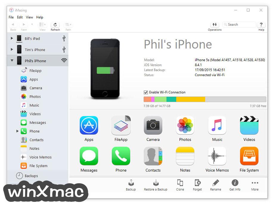 iMazing Screenshot 1