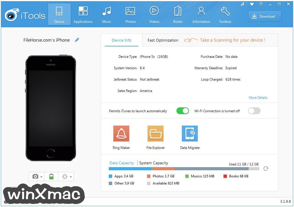 iTools for Windows Screenshot 1