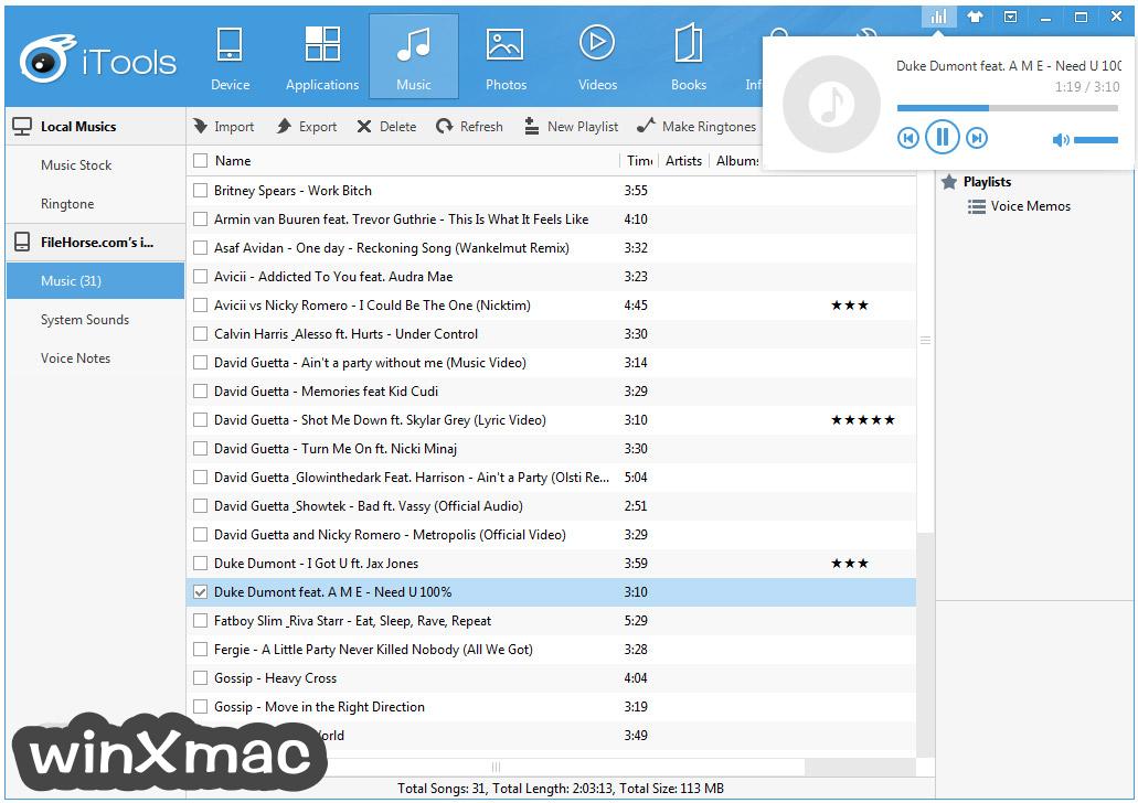 iTools for Windows Screenshot 2