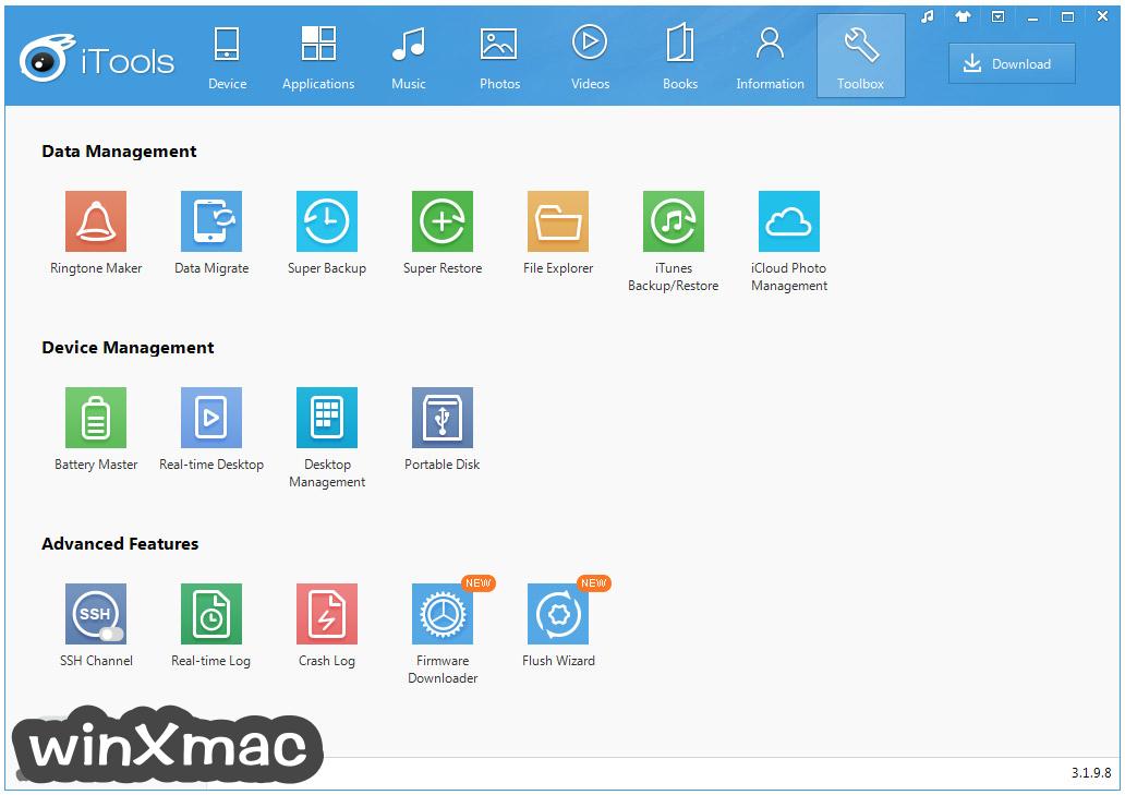 iTools for Windows Screenshot 4