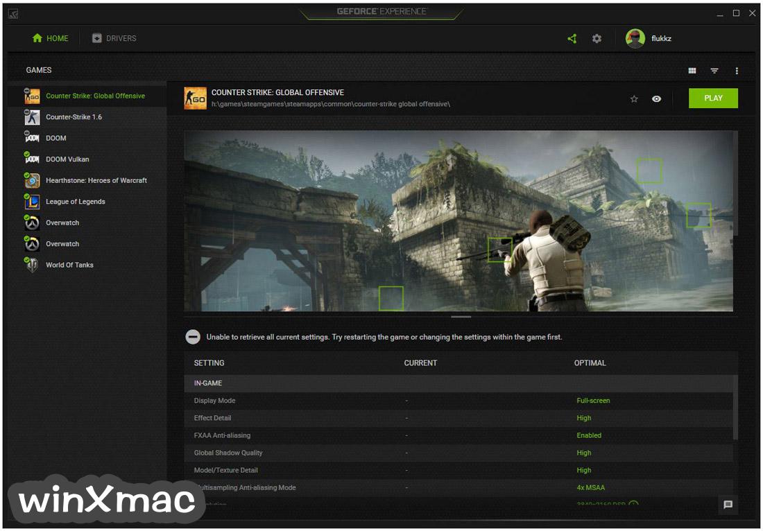 NVIDIA GeForce Experience Screenshot 1