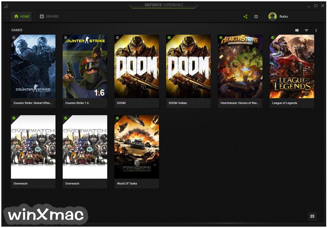 NVIDIA GeForce Experience Screenshot 2