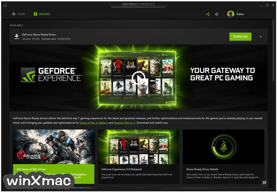 NVIDIA GeForce Experience Screenshot 4