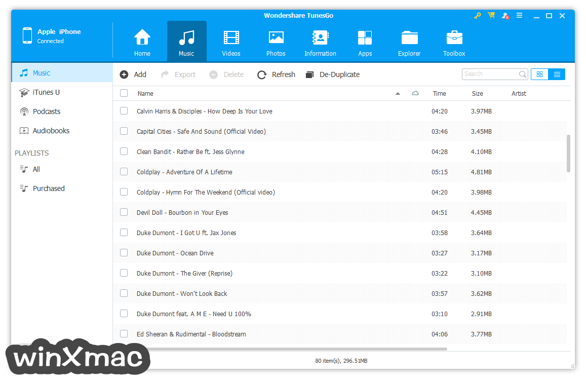 TunesGo for Windows Screenshot 2