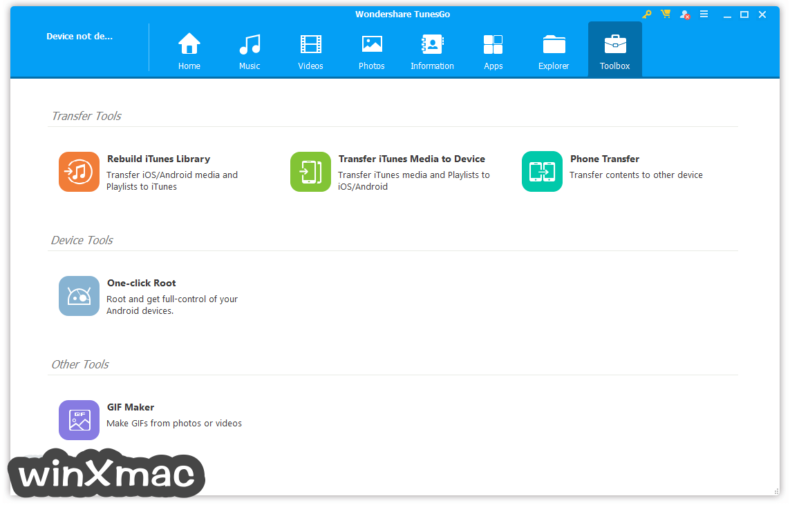TunesGo for Windows Screenshot 5