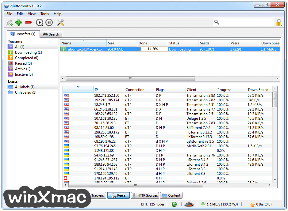 qBittorrent (64-bit) Screenshot 3