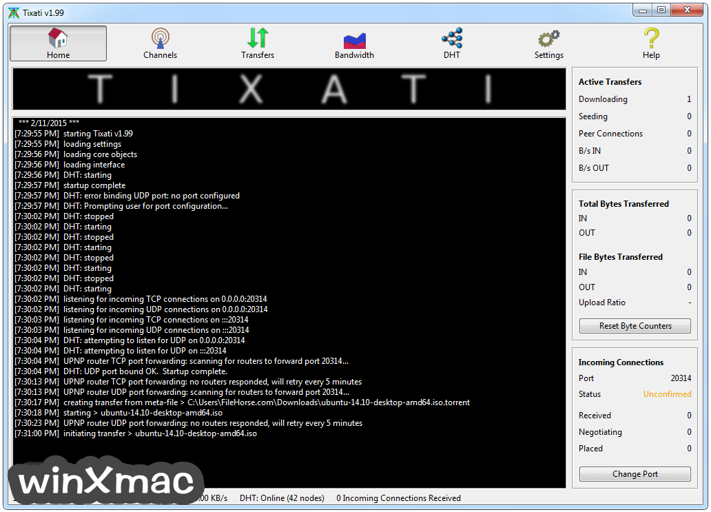 Tixati (32-bit) Screenshot 1