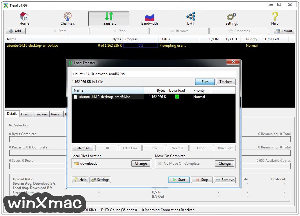 Tixati (32-bit) Screenshot 2