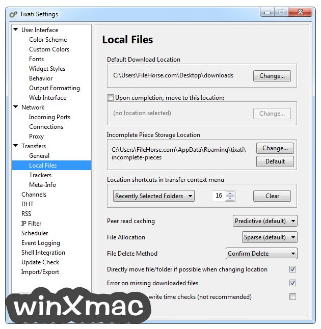 Tixati (32-bit) Screenshot 5
