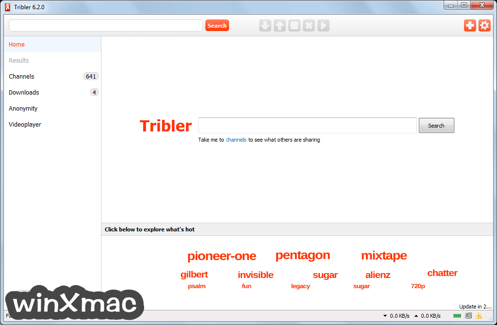 Tribler Screenshot 1