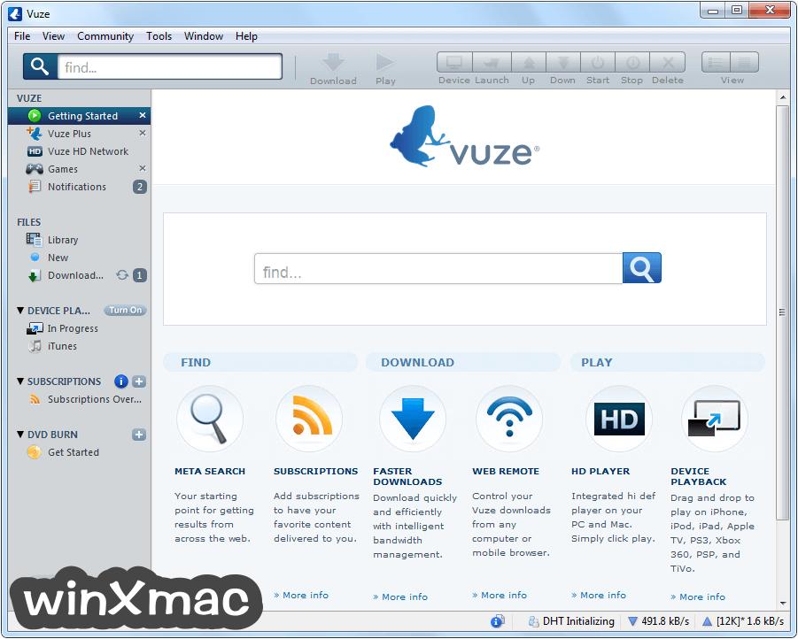 Vuze (32-bit) Screenshot 1