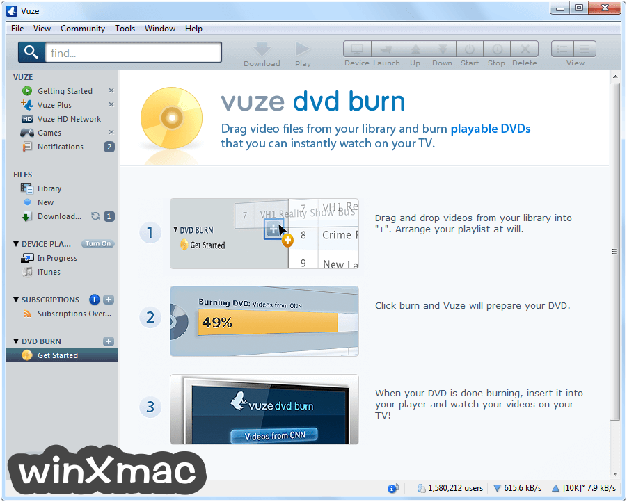 Vuze (32-bit) Screenshot 4