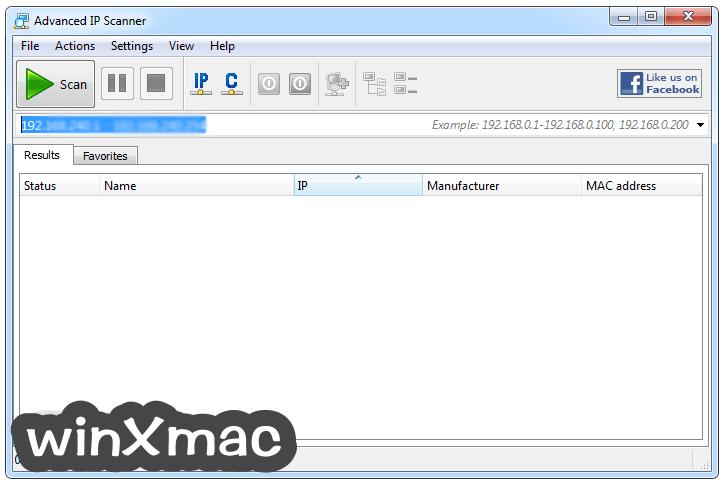 Advanced IP Scanner Screenshot 1