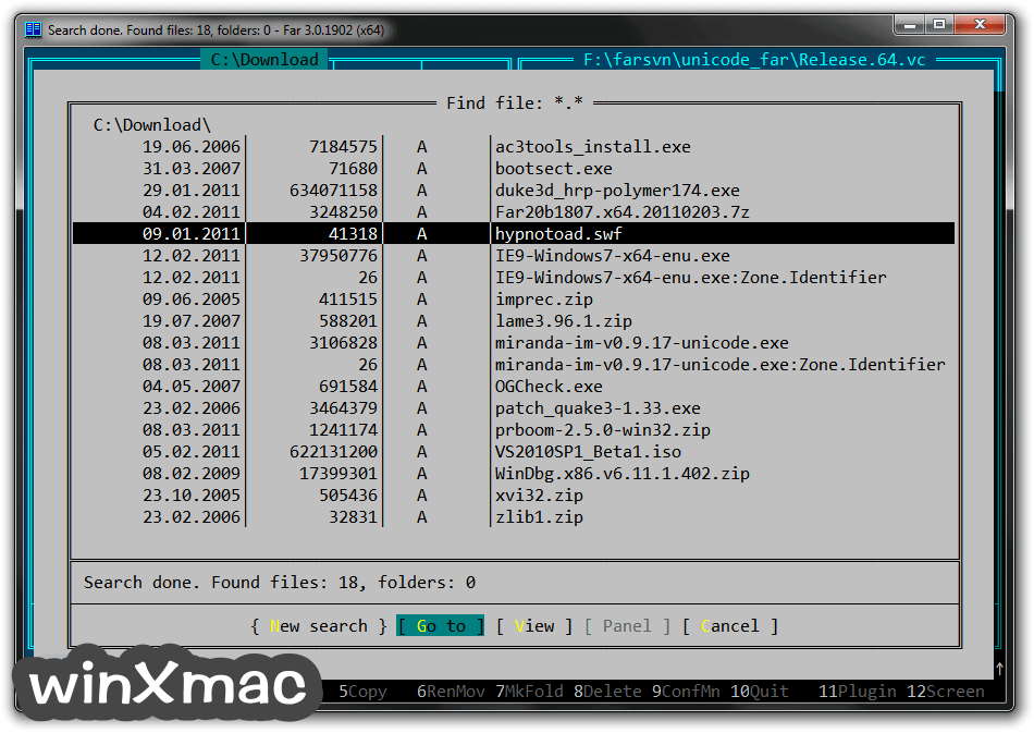 Far Manager (64-bit) Screenshot 1