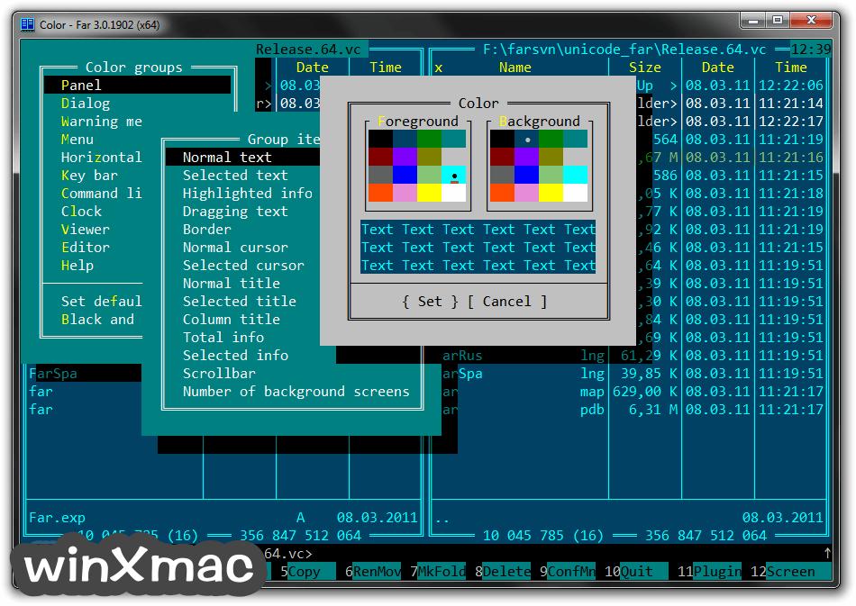 Far Manager (64-bit) Screenshot 5